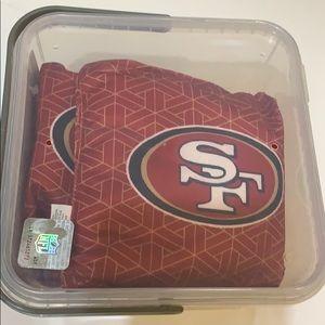 Team Bean toss bags NFL San Francisco 49ers s
